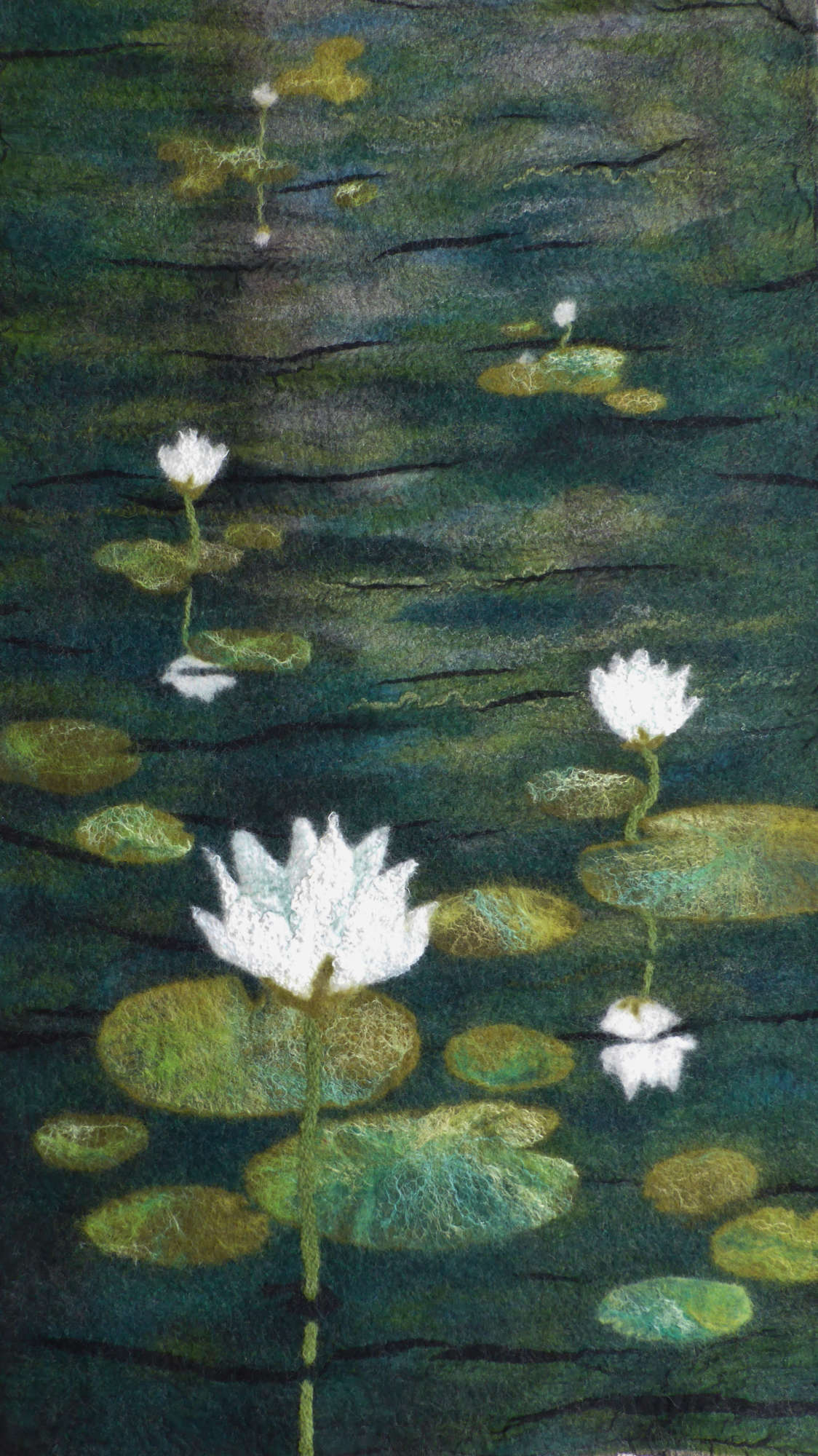 Water Lilies...Homage to Monet by Andrea McCallum