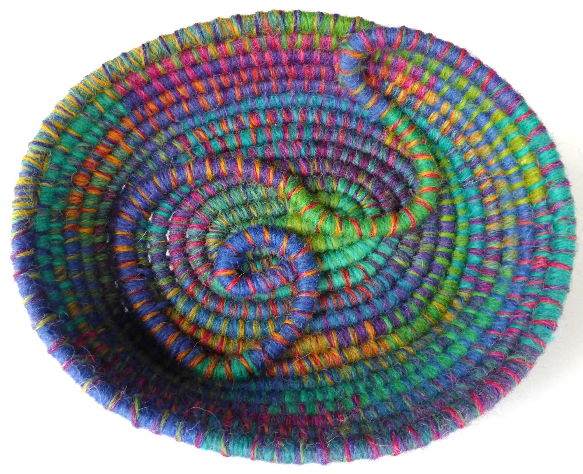 Opal Coil Basket (2014) Artwork by Andrea McCallum by Andrea McCallum