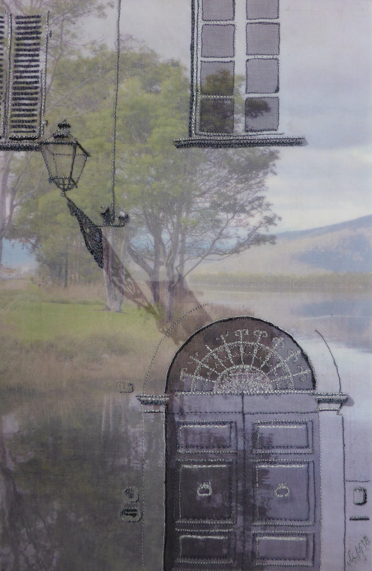 Door to the Derwent by Andrea McCallum