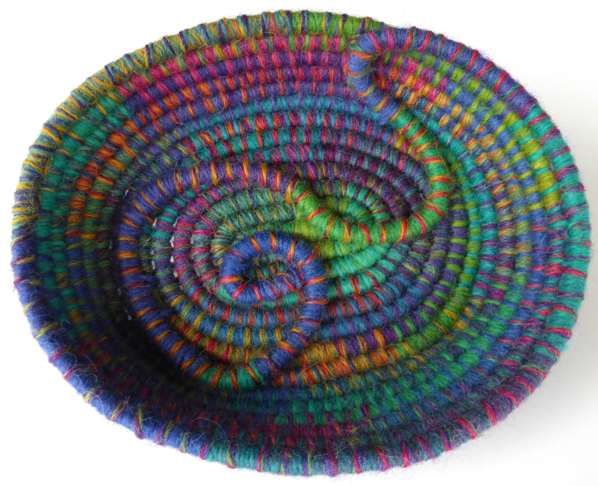 Opal Coil Basket (2014) by Andrea McCallum